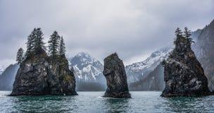 Fjords parc national, Alaska, Etats-Unis de Kenai photo stock