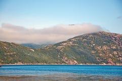 Fjordwolke Lizenzfreies Stockbild