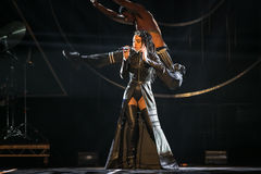 FKA Twigs. Performing live at the MOBO awards, Leeds First Direct Arena, UK Stock Image