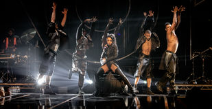 FKA Twigs. Performing live at the MOBO awards, Leeds First Direct Arena, UK Stock Images