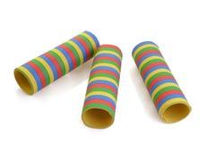 Flâmula de papel rolada Fotografia de Stock