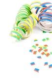 Flâmulas coloridas do partido Imagem de Stock