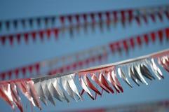 flâmulas da bandeira imagens de stock royalty free