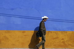 Flânerie autour de la ville au Mexique Photos libres de droits
