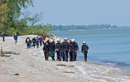 Flânerie de la plage Images stock