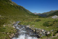 Flüela Pass in Switzerland Royalty Free Stock Images