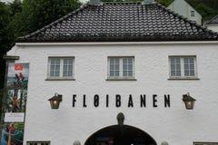 Fløibanen Στοκ φωτογραφία με δικαίωμα ελεύθερης χρήσης