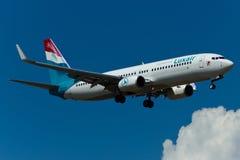Fläche Boeings 737 Lizenzfreies Stockbild