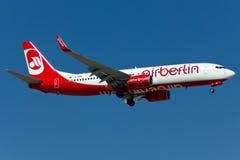 Fläche Boeings 737 Stockfoto