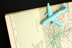 Fläche und Karte Lizenzfreie Stockbilder