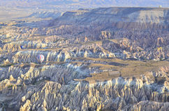 Flächen-Cappadocia Stockbilder