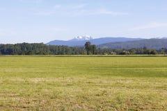 Flächeninhalt im Fraser Tal Lizenzfreies Stockbild