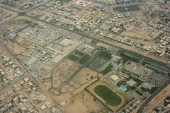 Flächenkarte Stockbild