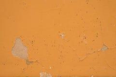 Fläck av målarfärgskrapan på väggen royaltyfri bild
