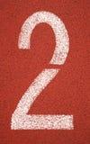 fläck för 2 lane Royaltyfria Bilder