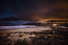 Fläck vid natt Arkivfoton