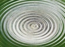 fläckar i vattnet från en regndroppe på en pöl vektor illustrationer