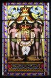 Fläckexponeringsglaspanel Royaltyfria Bilder