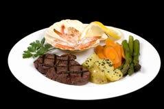 fläskkarré för 006 steak Arkivfoton