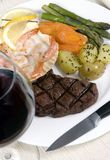 fläskkarré för 007 steak Royaltyfri Foto