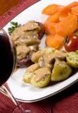 fläskkarré för 014 steak Arkivfoto