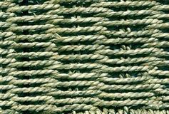 Flätad korgtextur Arkivbild