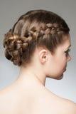 Flätad tråd för hår arkivfoton