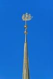 Flèche d'Amirauté. St Petersbourg, Russie Photographie stock libre de droits