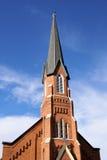 Flèche d'église Photographie stock libre de droits