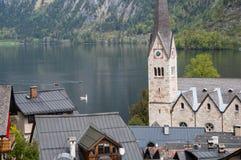Flèche d'église photos libres de droits