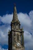 Flèche d'église, Edimbourg Photographie stock libre de droits