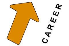 Flèche de carrière Photos libres de droits