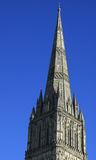 Flèche de cathédrale de Salisbury Photo stock