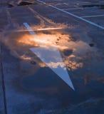 Flèche de ciel Photo libre de droits