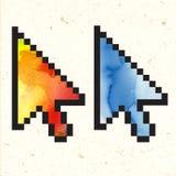 Flèche de couleur Photo libre de droits