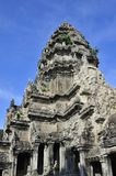 Flèche de Œthe de ¼ de watï d'Angkor de ciel Photos stock