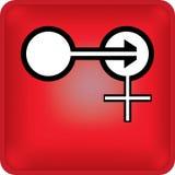 Flèche de sexe illustration libre de droits