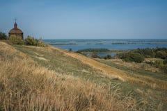Flèche de Vityach - de Knyazhyi, Ukraine photos stock
