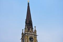 Flèche du nom de Mary Church images stock
