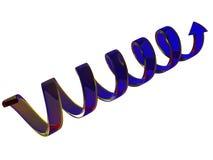 Flèche en verre Image libre de droits