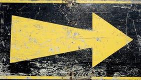 Flèche grunge Photo libre de droits