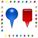 Flèche indicatrice Image libre de droits