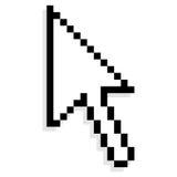 Flèche indicatrice de souris Image libre de droits