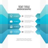 Flèche Infographic illustration de vecteur