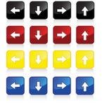 flèches 4pack Image libre de droits