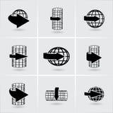 Flèches circulaires illustration de vecteur