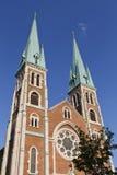 Flèches d'église Photo libre de droits