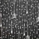 Flèches d'étoile de Scrapbooking images stock