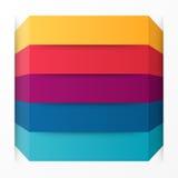 flèches 3d infographic Calibre pour le diagramme, le graphique, la présentation et le diagramme Concept de démarrage d'entreprise Photo libre de droits