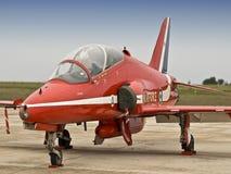 Flèches de rouge de RAF Images libres de droits